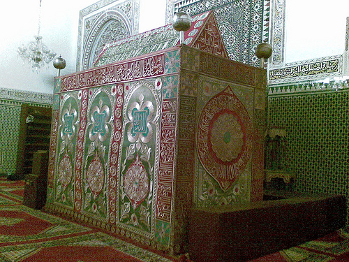 The Tomb of Shaykh Muhammad al-Jazuli